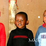 Foto 4 kinderen Masechaba Day Care Centre